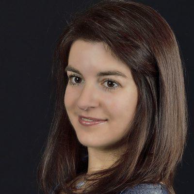 Audrey Pottier, chef de chœur au stage de musique Accordissimo