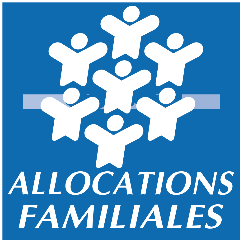 Logo CAF (Caisse d'allocation familiales)