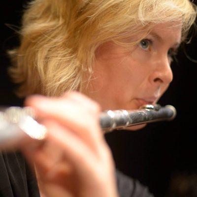 Marion Candy, professeur de flûte traversière au stage de musique Accordissimo
