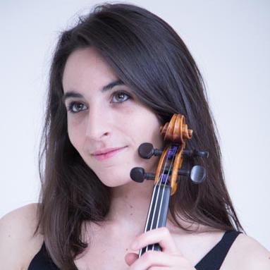 Pauline Klaus, professeur de violon au stage de musique Accordissimo