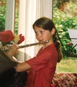 Charlotte Bletton, professeur de flûte traversière, stage de musique Accordissimo