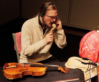 Loïc Douroux, professeur de violon et d'alto au stage de musique Accordissimo