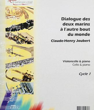 Dialogue des deux marins à l'autre bout du monde - Claude-Henry Joubert - Partition